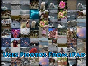 Uses Photos From iPad