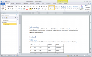 Initial Word Document