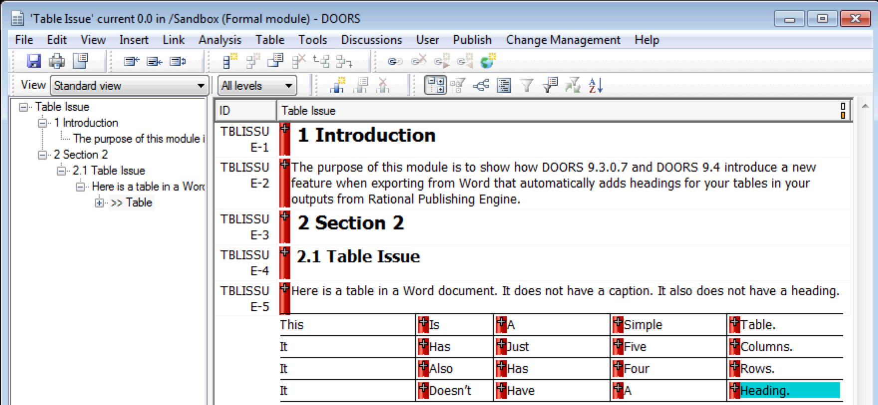 ]3 New DOORS Module based on Word Document  sc 1 st  Baselines Inc. & Baselines Inc. DOORS Archives - Baselines Inc.
